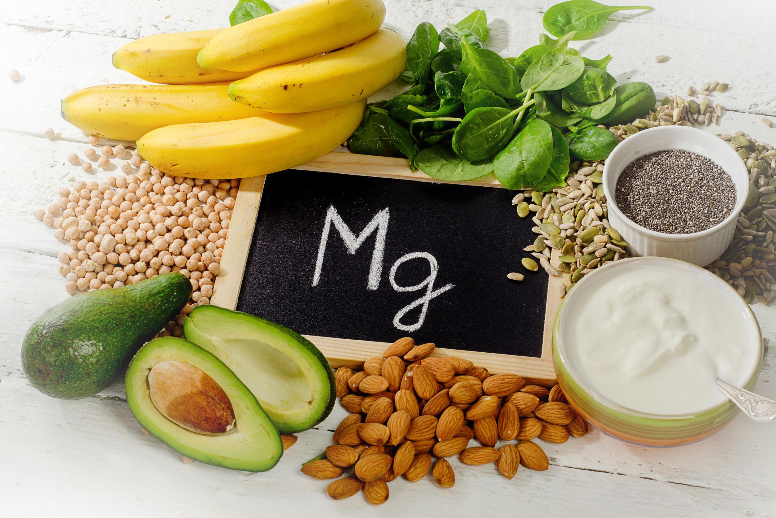 Magnesio en los alimentos: ¿Cuáles contienen más magnesio?