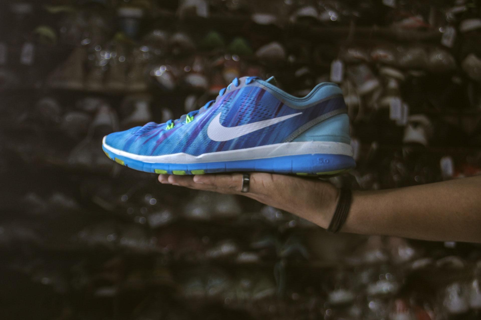 zapatillas nike azules