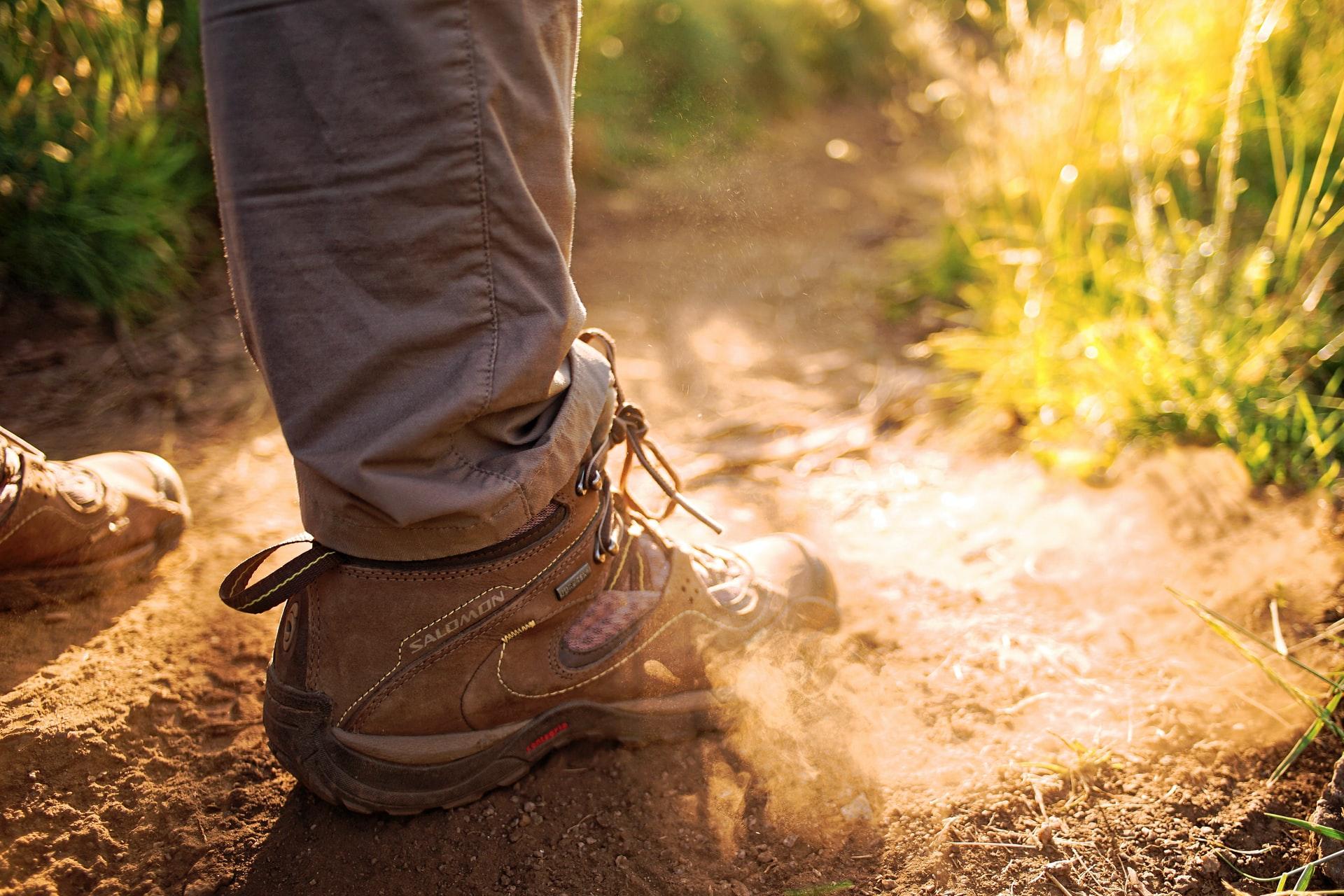 zapatos a prueba de polvo