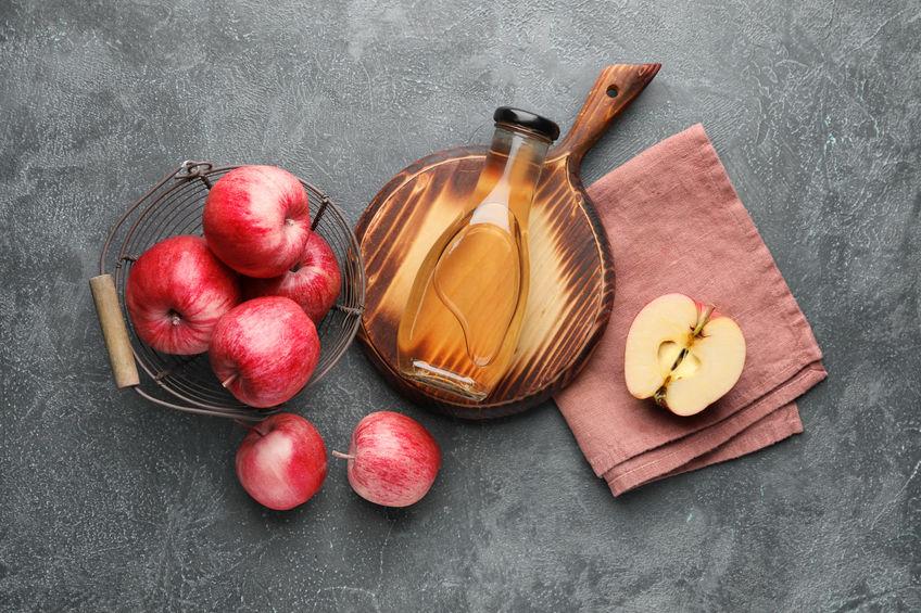 vinagre de manzana con acido malico