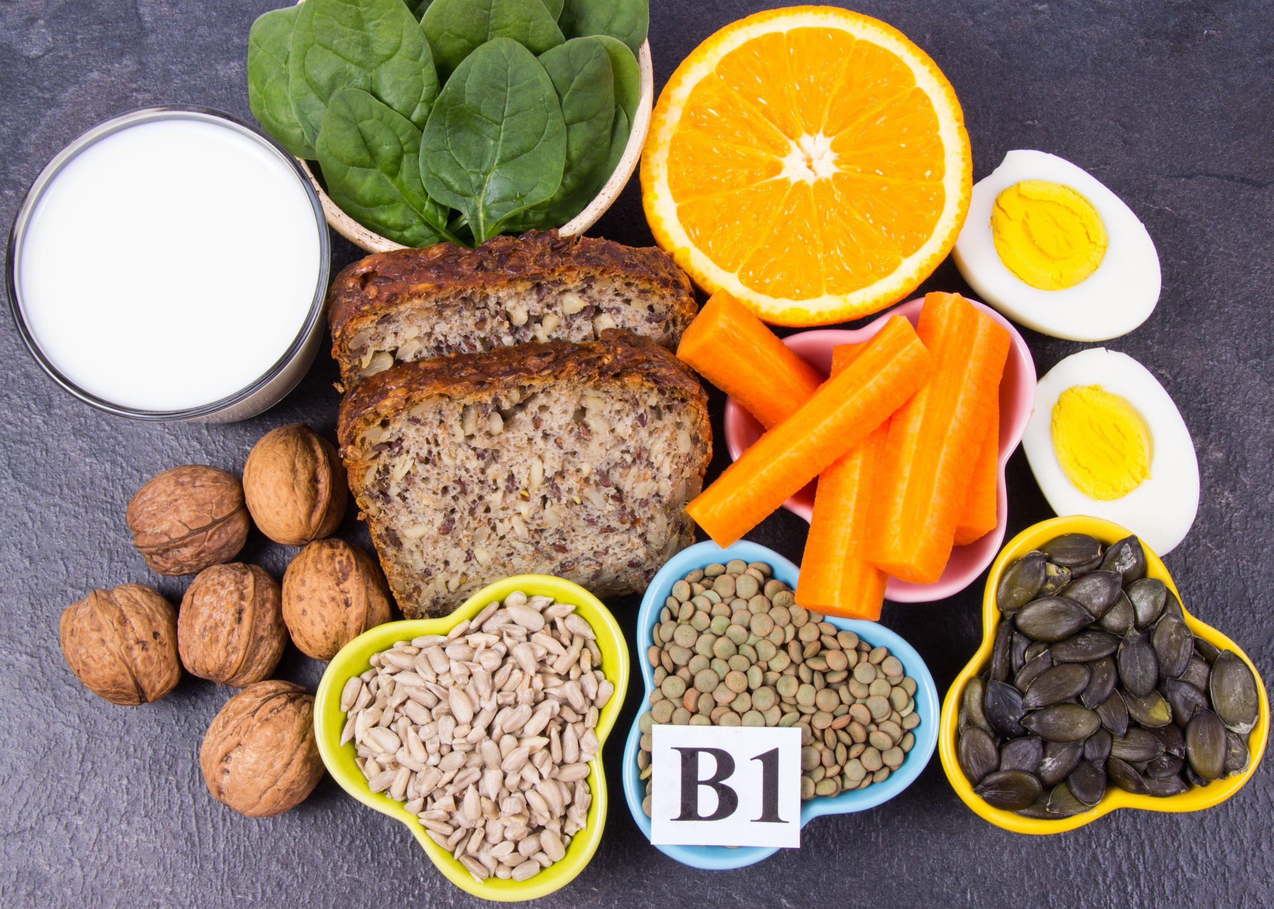 semillas ricas en vitamina b1