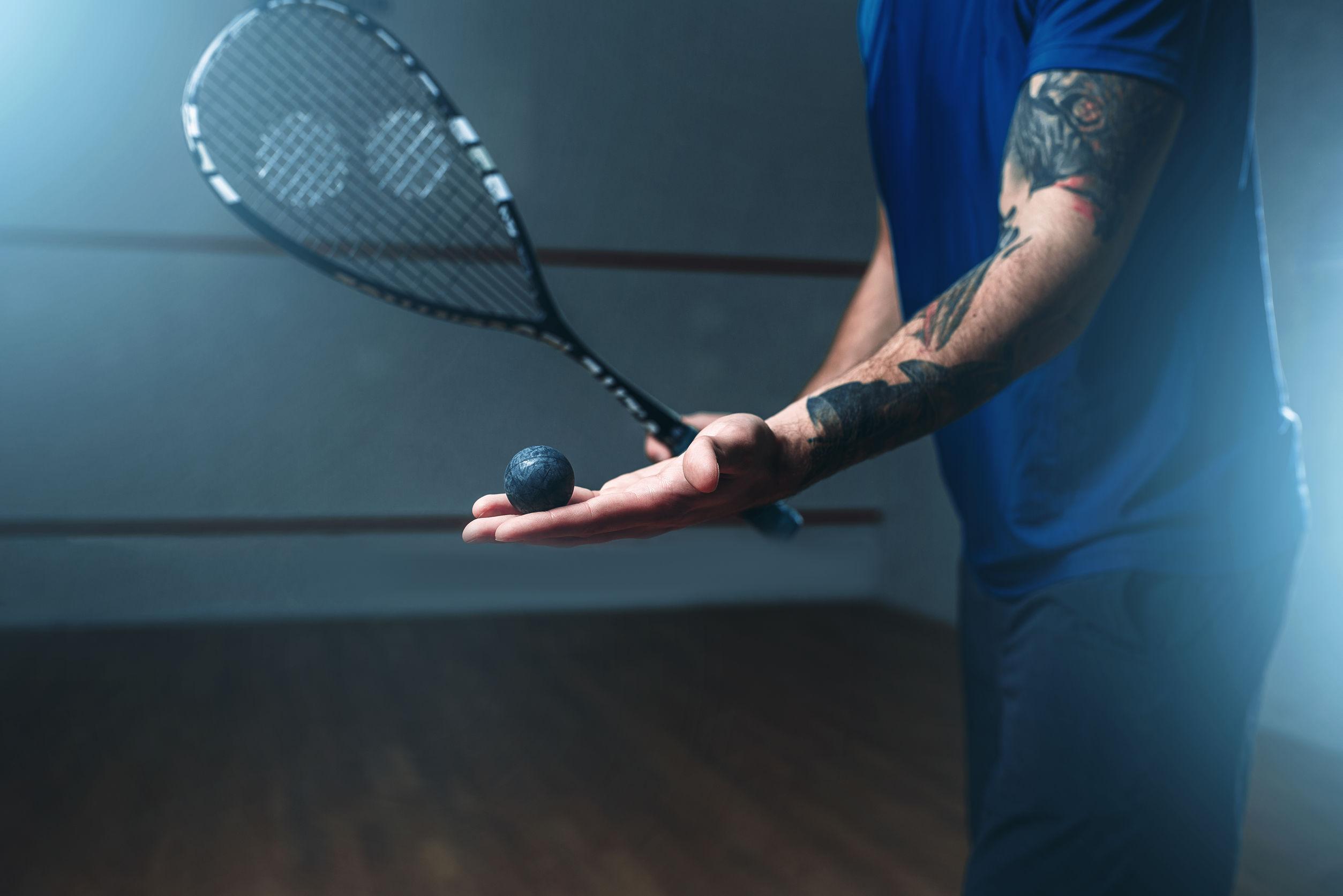 saque de squash