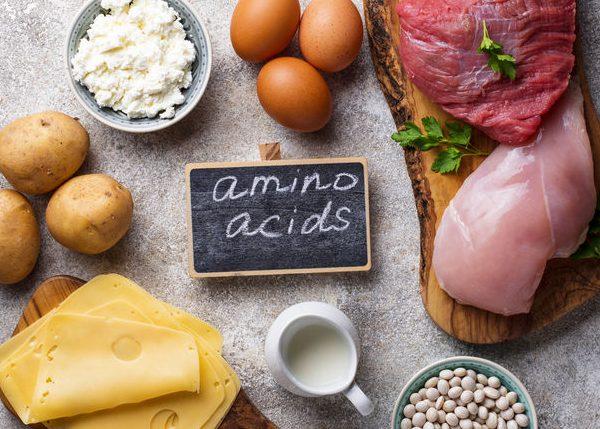 alimenos con aminoacidos