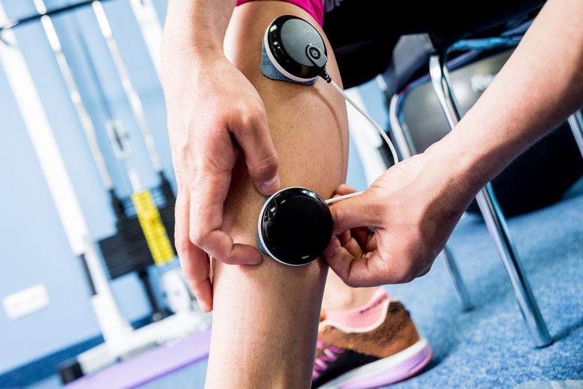 electroestimulador para pierna