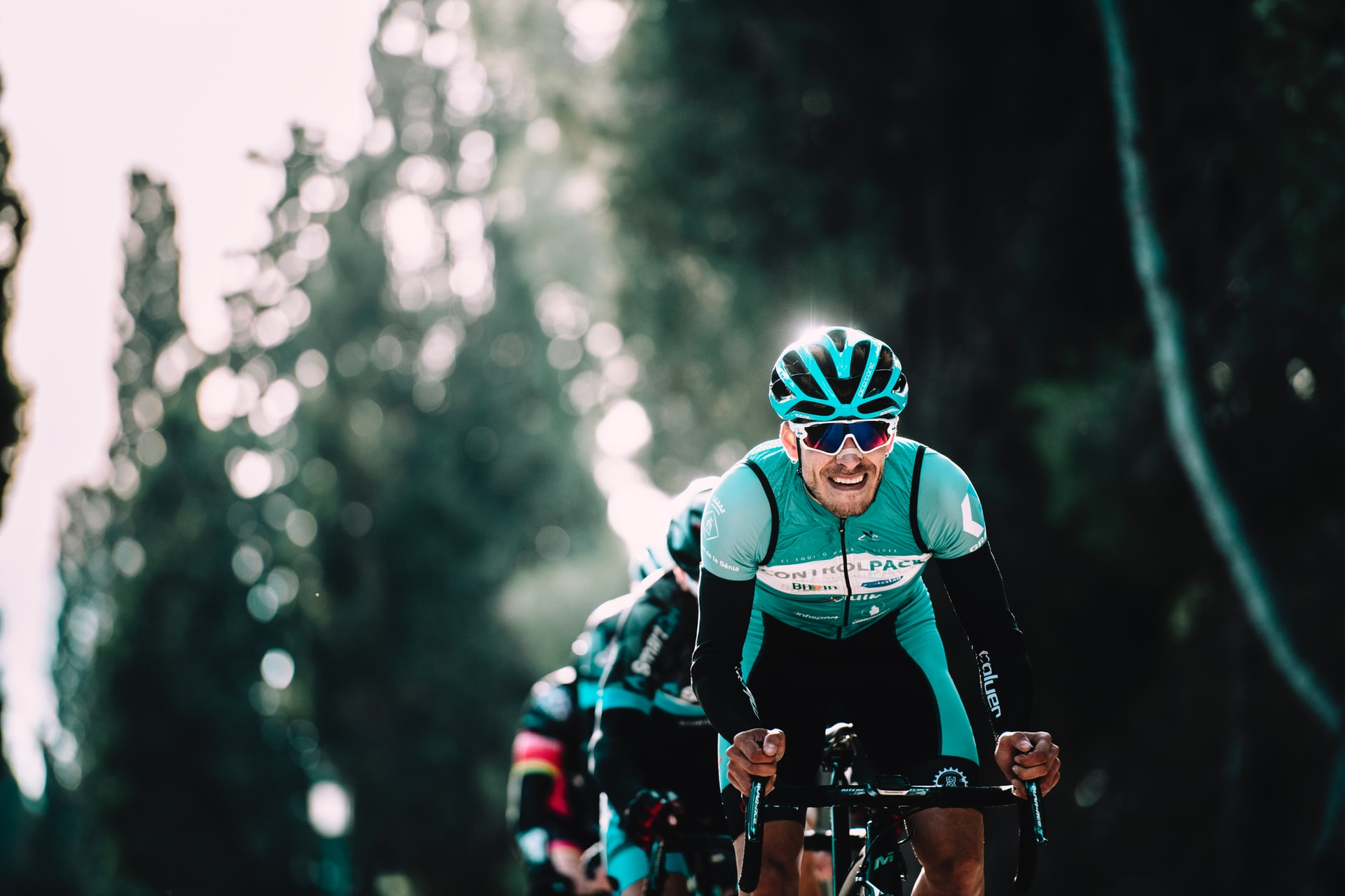 ciclista, gafas