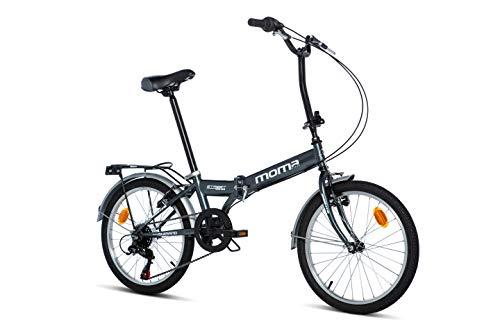 Moma Bikes Bicicleta Plegable Urbana STREET, SHIMANO 6V