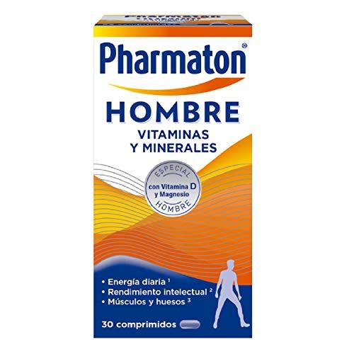 Pharmaton - Multivitaminas - Energía diaria - Hombre 30 comprimidos - Ayuda a los hombres a mantener su vitalidad cada día