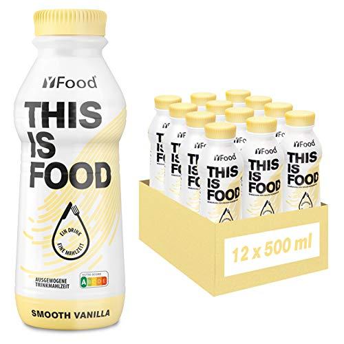 yfood vanilla   batido sustitutivo   THIS IS FOOD drink   34g de proteínas, 26 vitaminas y minerals (12 x 500 ml)