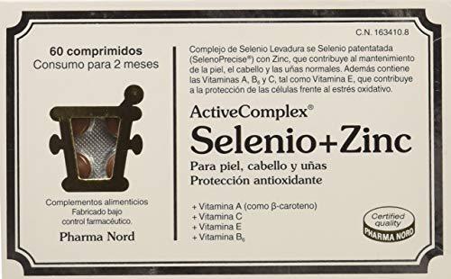 Active Complex Complemento Alimenticio Selenio y Zinc - 60 Comprimidos