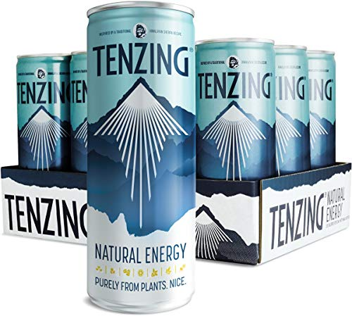 Tenzing Bebida Energética e Isotónica – Subidón 100% Natural - The Power of Nature - Triple Chute de Vitamina C Para Reforzar El Sistema Inmune 250 ml